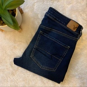 American eagle cropped jegging size 6